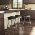 Amisco Phylo Swivel Metal Counter Stool
