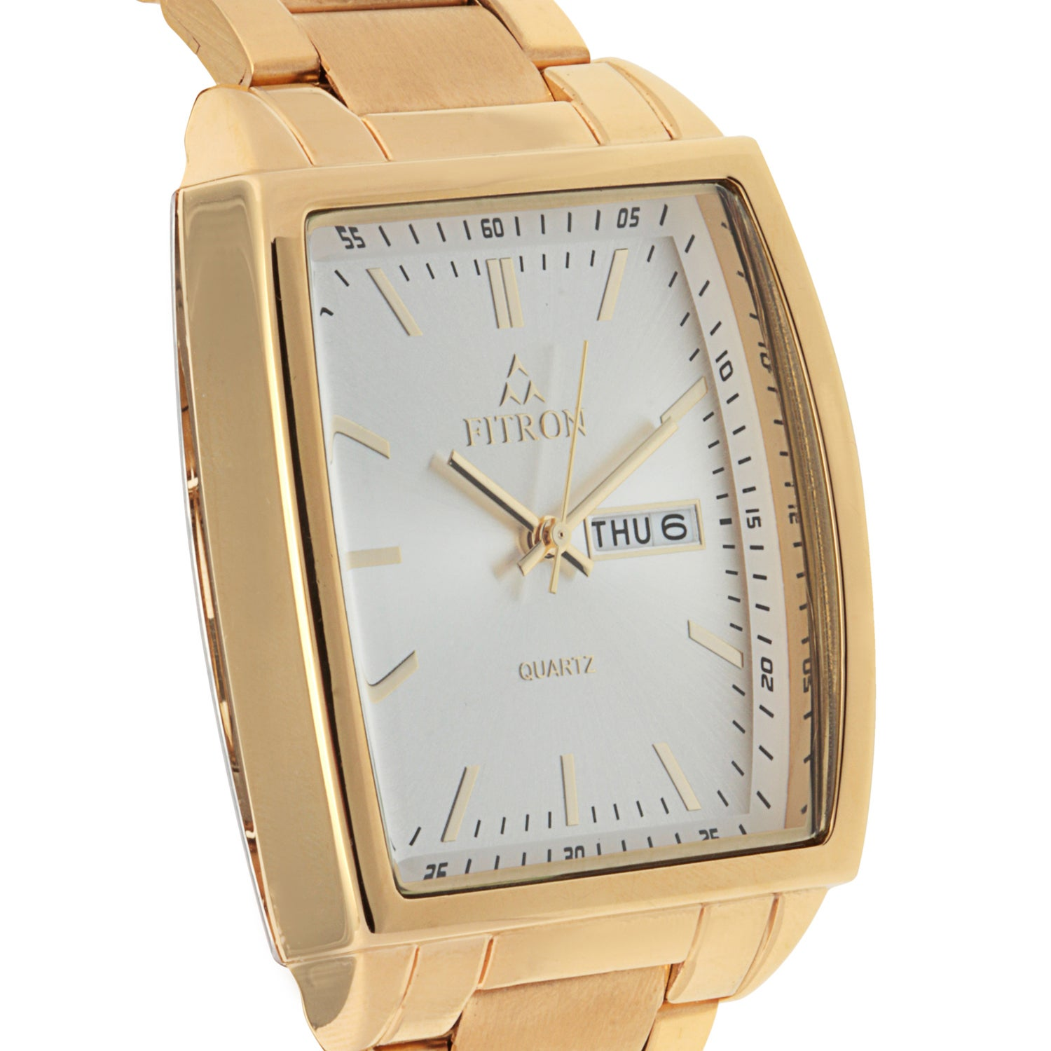 Shop Fitron Men's Stainless Steel Watch - Free Shipping On Orders Over $45 - Overstock.com - 9603601