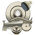 Danco Brushed Nickel Head to Toe Remodeling Kit for Moen Chateau