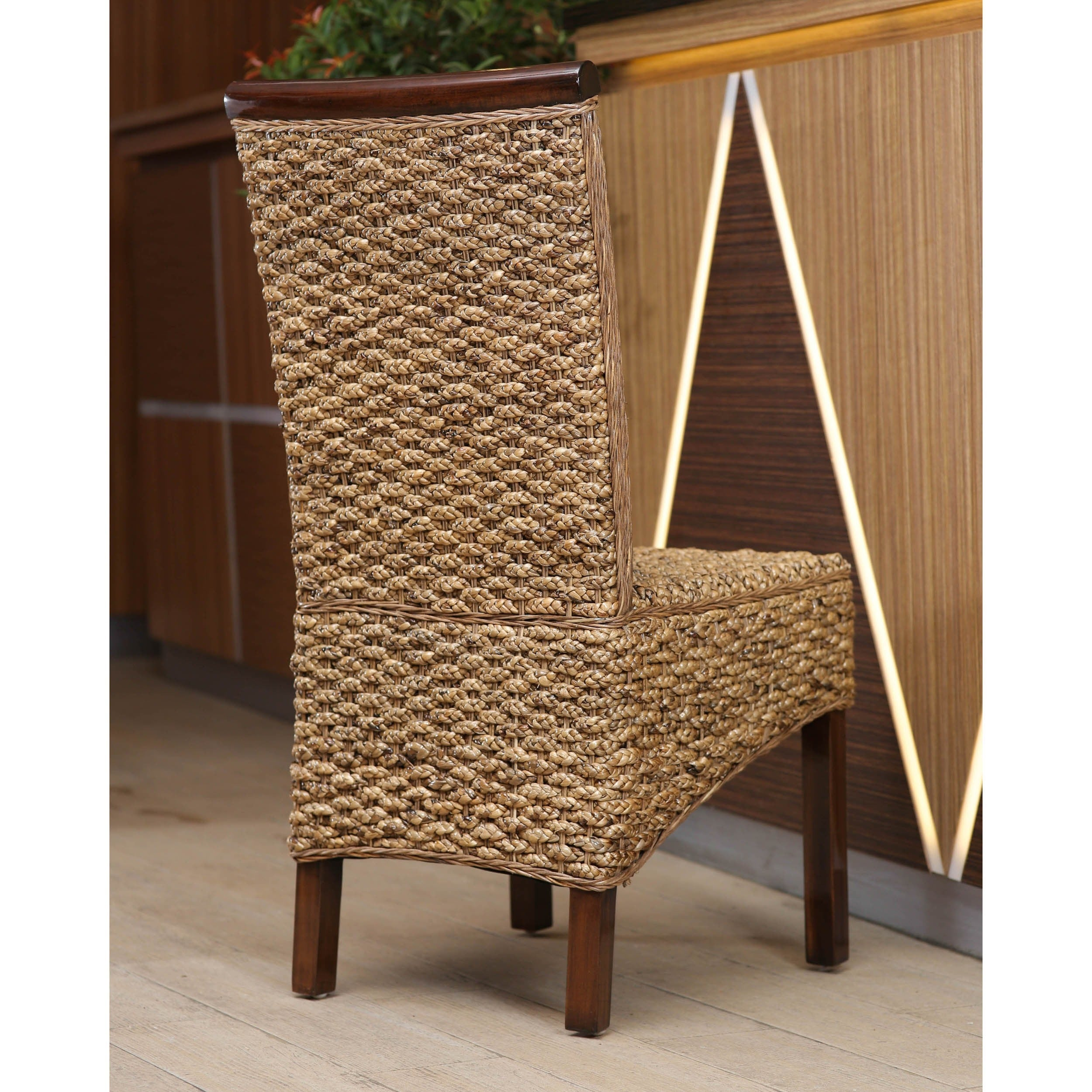 Shop International Caravan Bunga Mahogany Dining Chair   Free Shipping  Today   Overstock.com   9604011