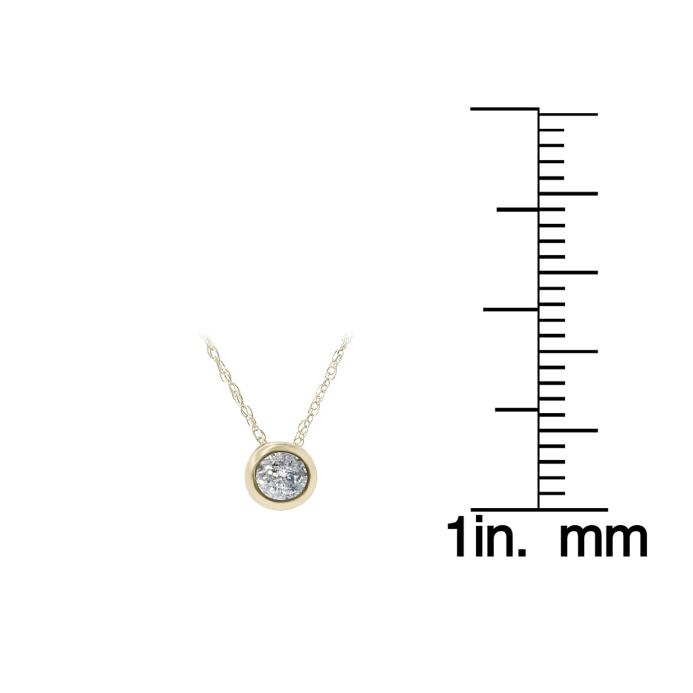 solitaire necklace inc a set products j bezel diamond