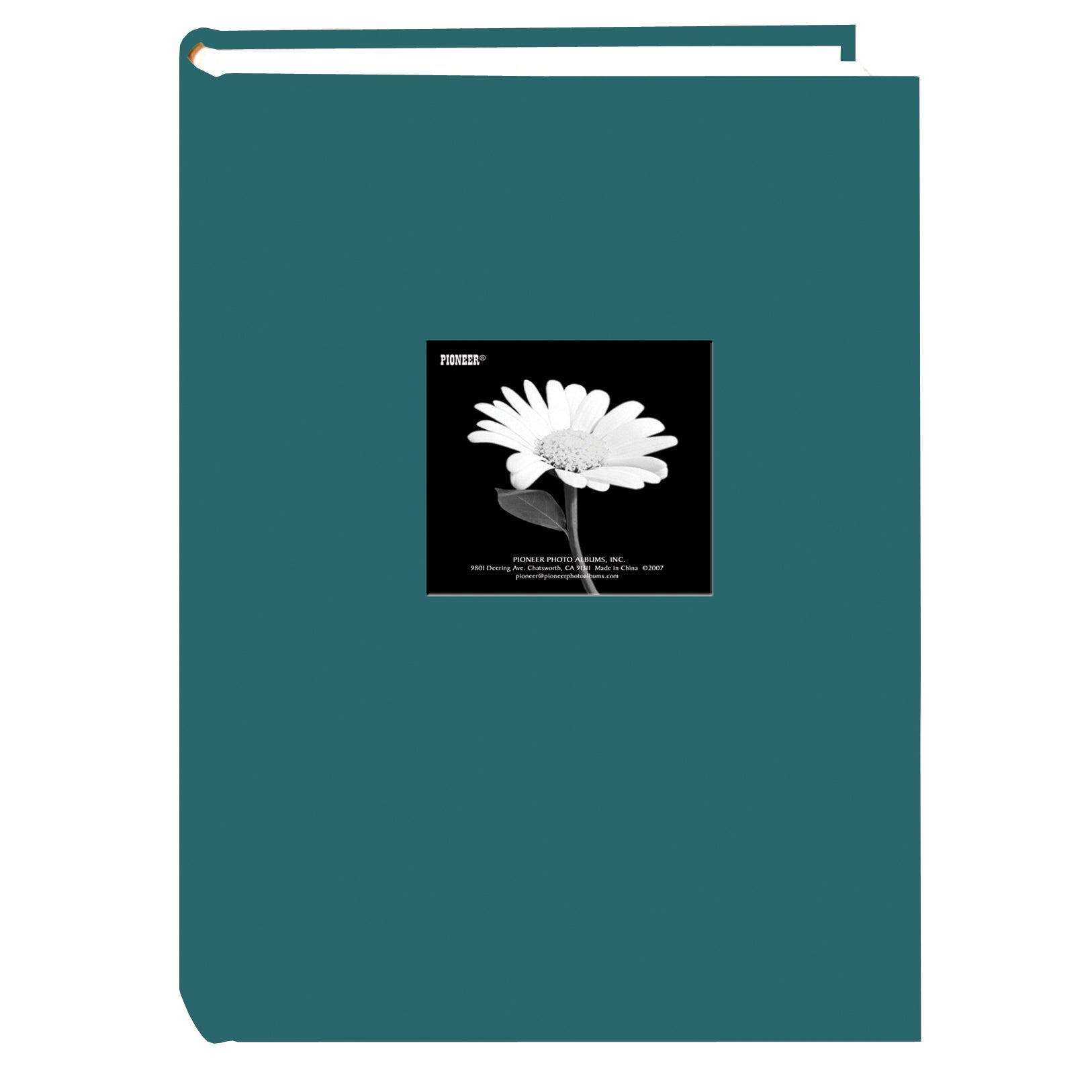 Shop Pioneer Photo Albums 300 Pocket Teal Fabric Frame Cover Album
