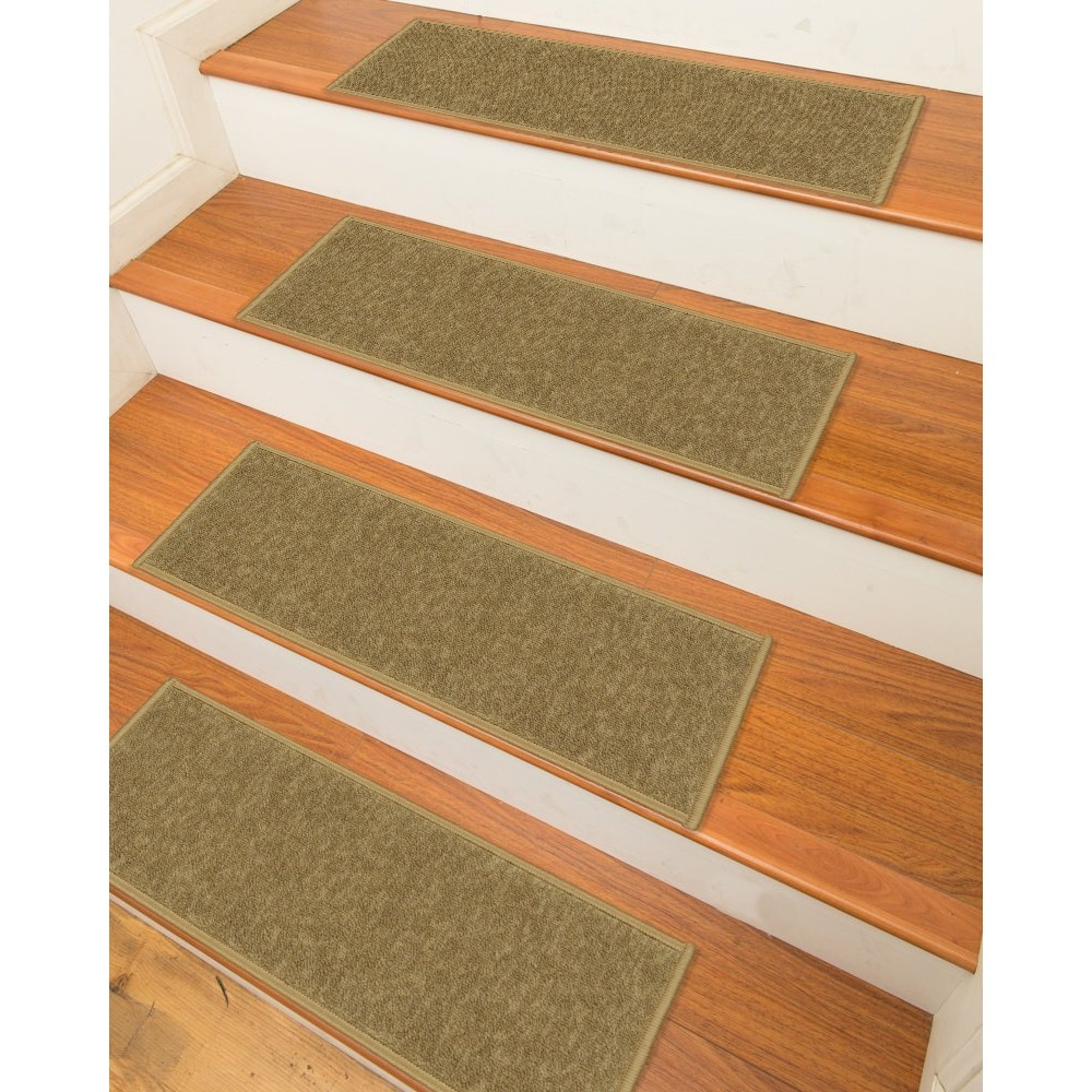 Ottomanson Skid Resistant Non Slip Carpet Stair Treads   Set Of 7   Free  Shipping On Orders Over $45   Overstock   16796002