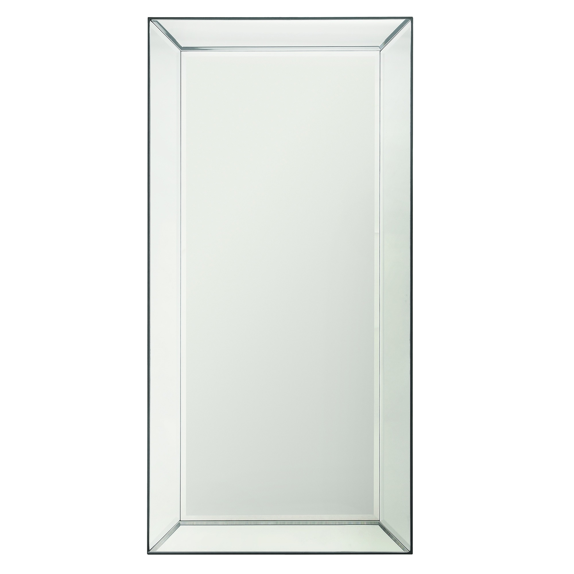 Shop Conrad Bevel Mirrored Frame Rectangular Accent Wall Mirror by ...