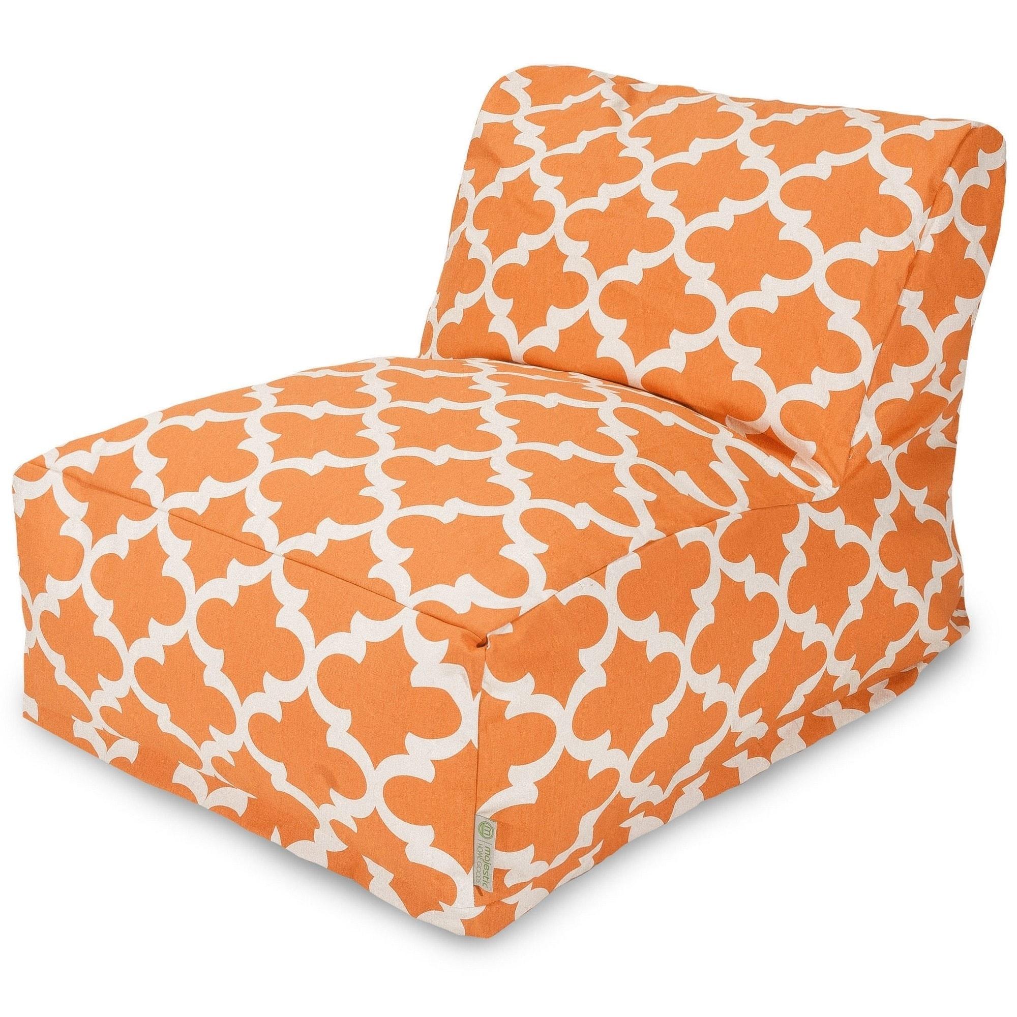 shop majestic home goods indoor outdoor trellis bean bag chair rh overstock com