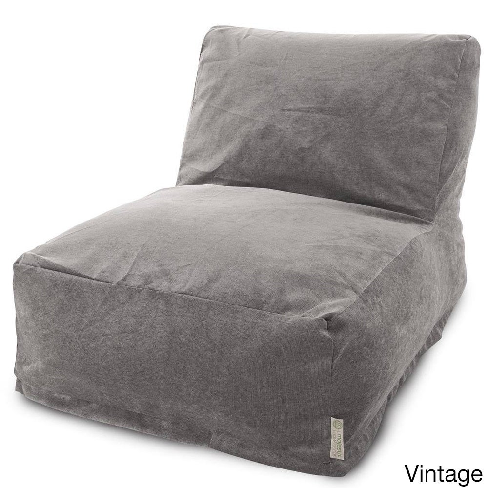 majestic accent chairs for living room. Majestic Home Goods Villa Collection Bean Bag Lounger Chair  Free Shipping Today Overstock com 16796837