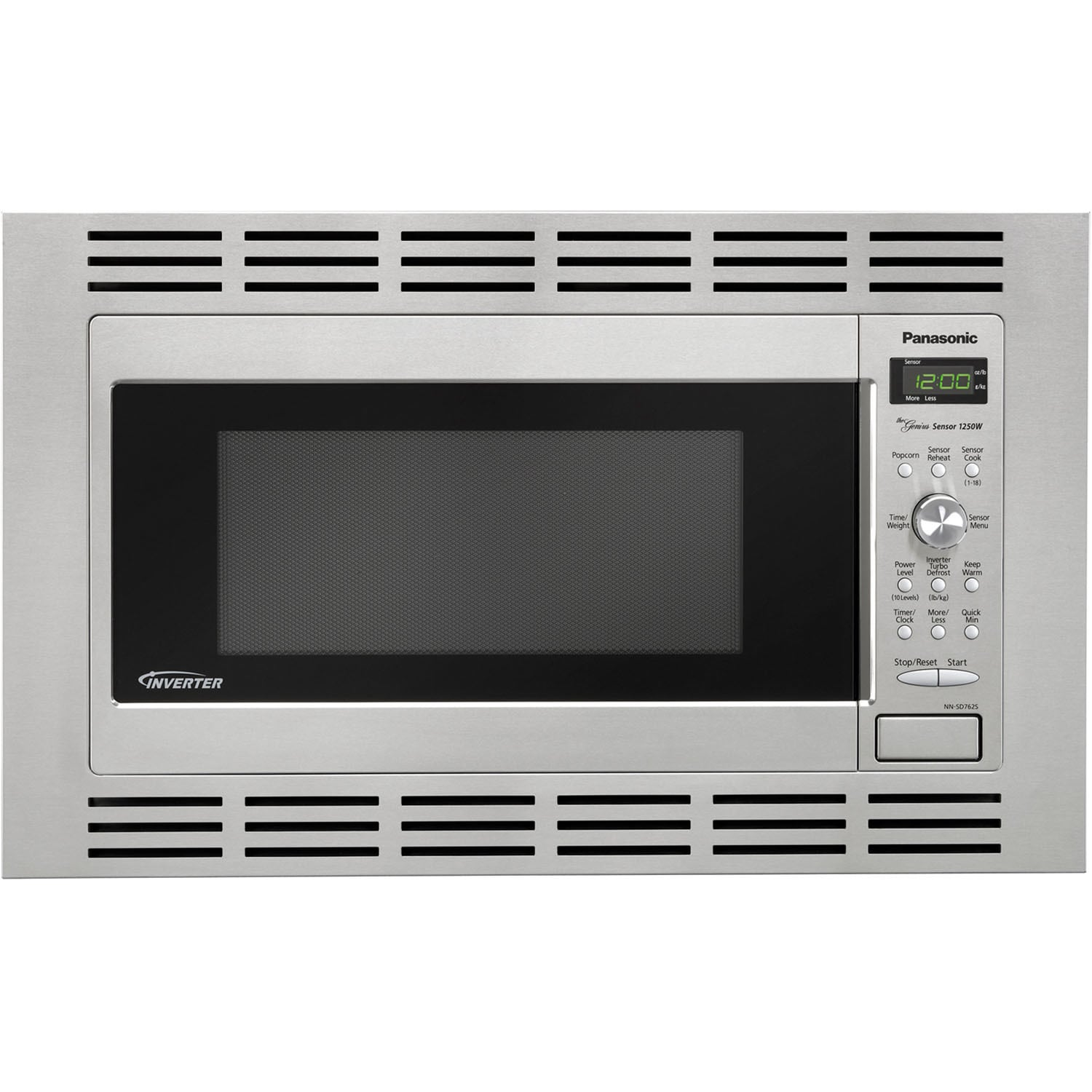 Panasonic 27 Inch Stainless Steel Trim Kit For 2 Cubic Foot Microwaves Free Shipping Today 16797229