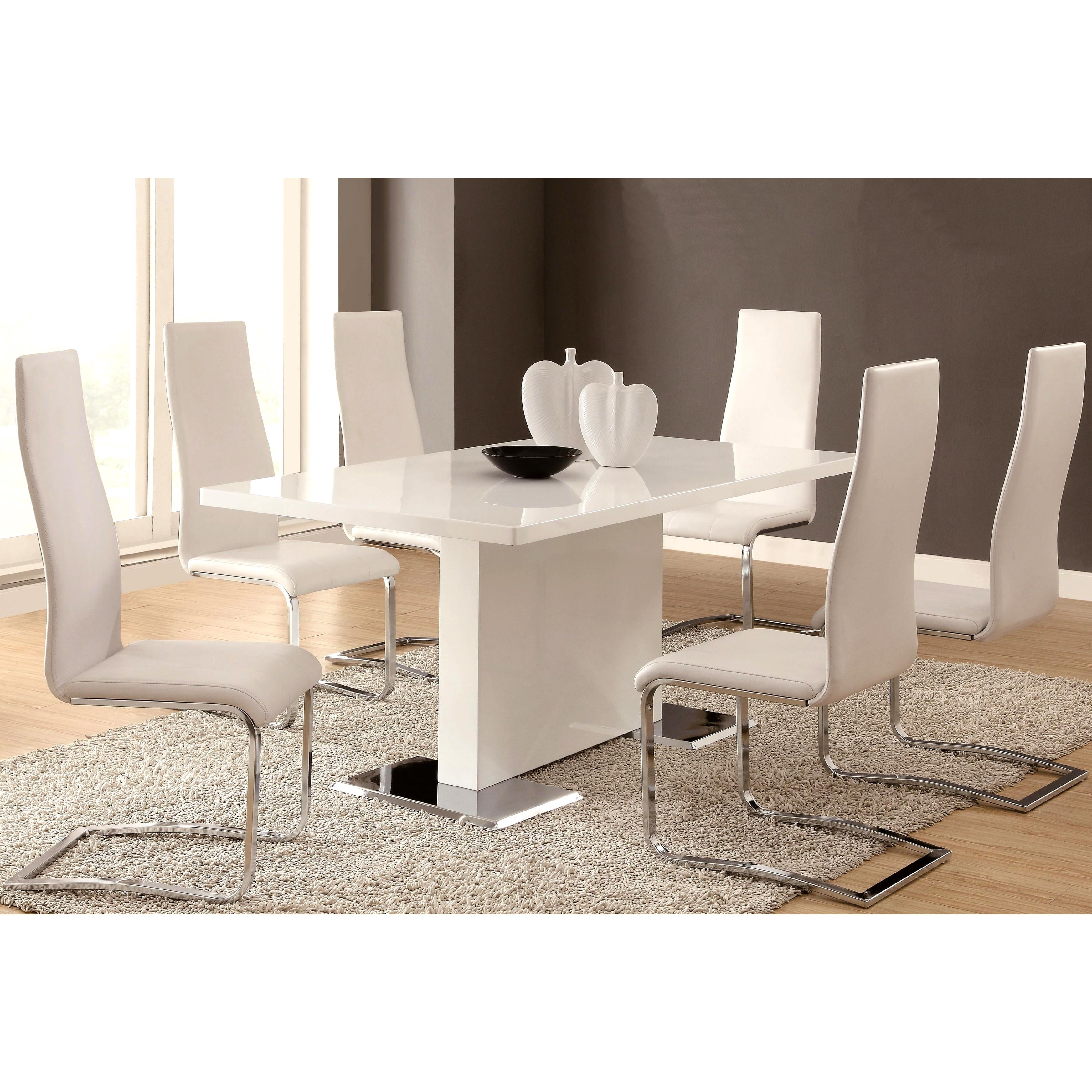 Shop Dover Contemporary 5 Piece Dining Set Free Shipping Today