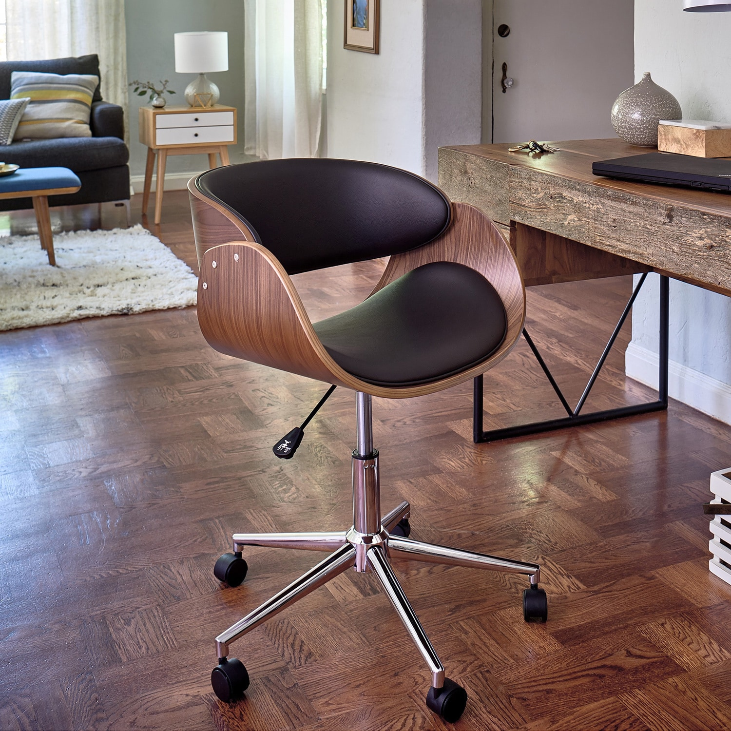 shop monroe adjustable office chair on sale free shipping today