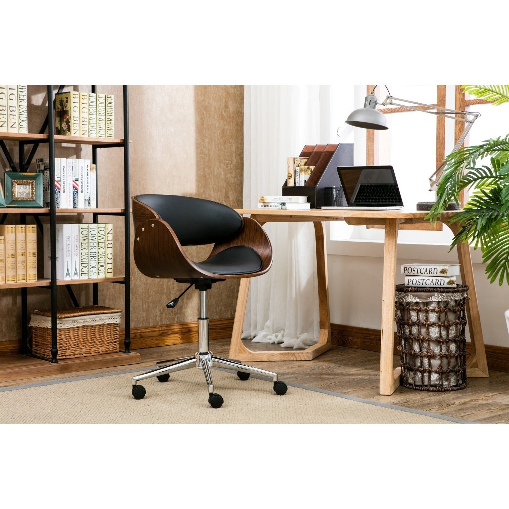 Monroe Adjustable Office Chair   Free Shipping Today   Overstock.com    16798426