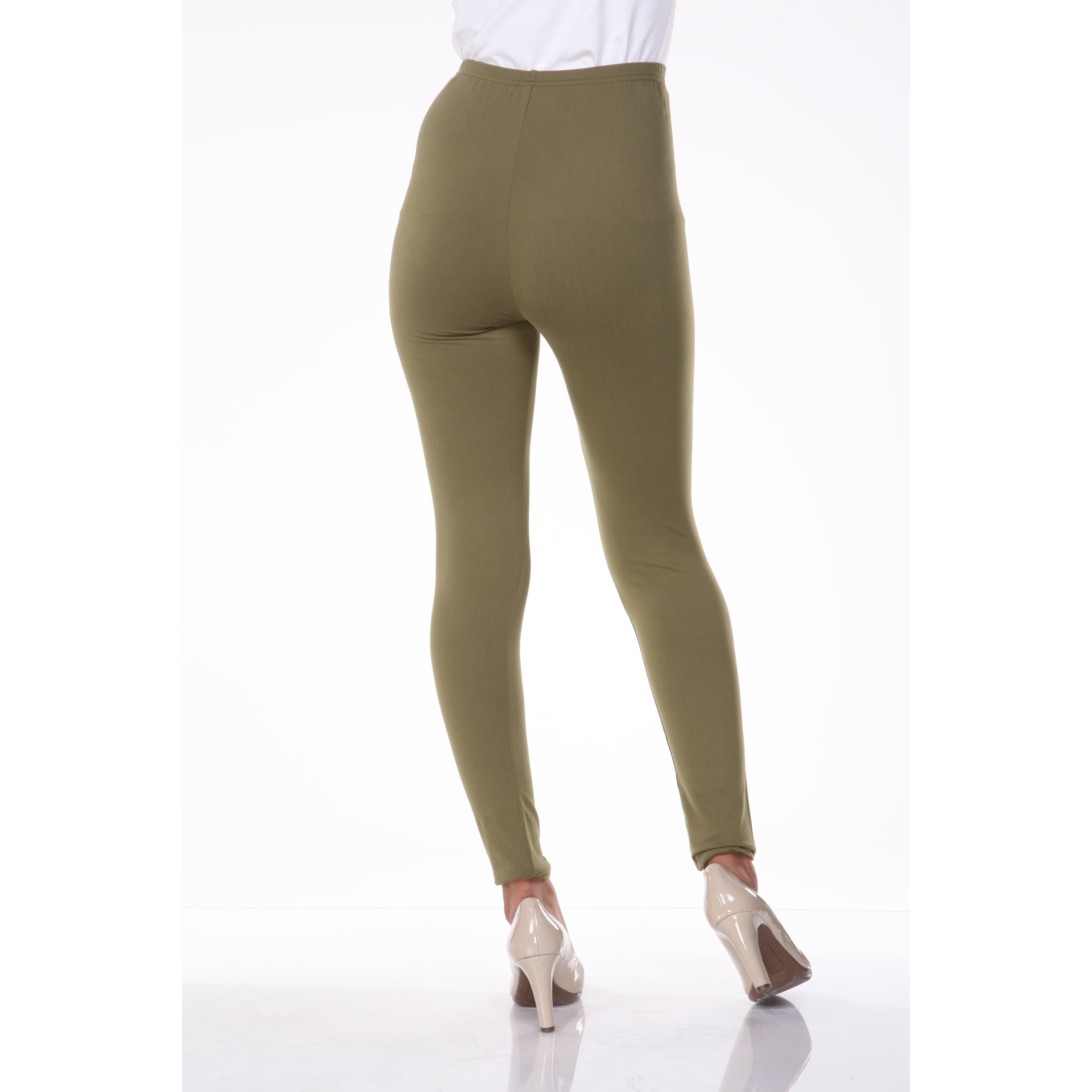 c1b2f9c8a7d9b Shop White Mark Women's Cotton Leggings - Free Shipping On Orders Over $45  - Overstock - 9613469