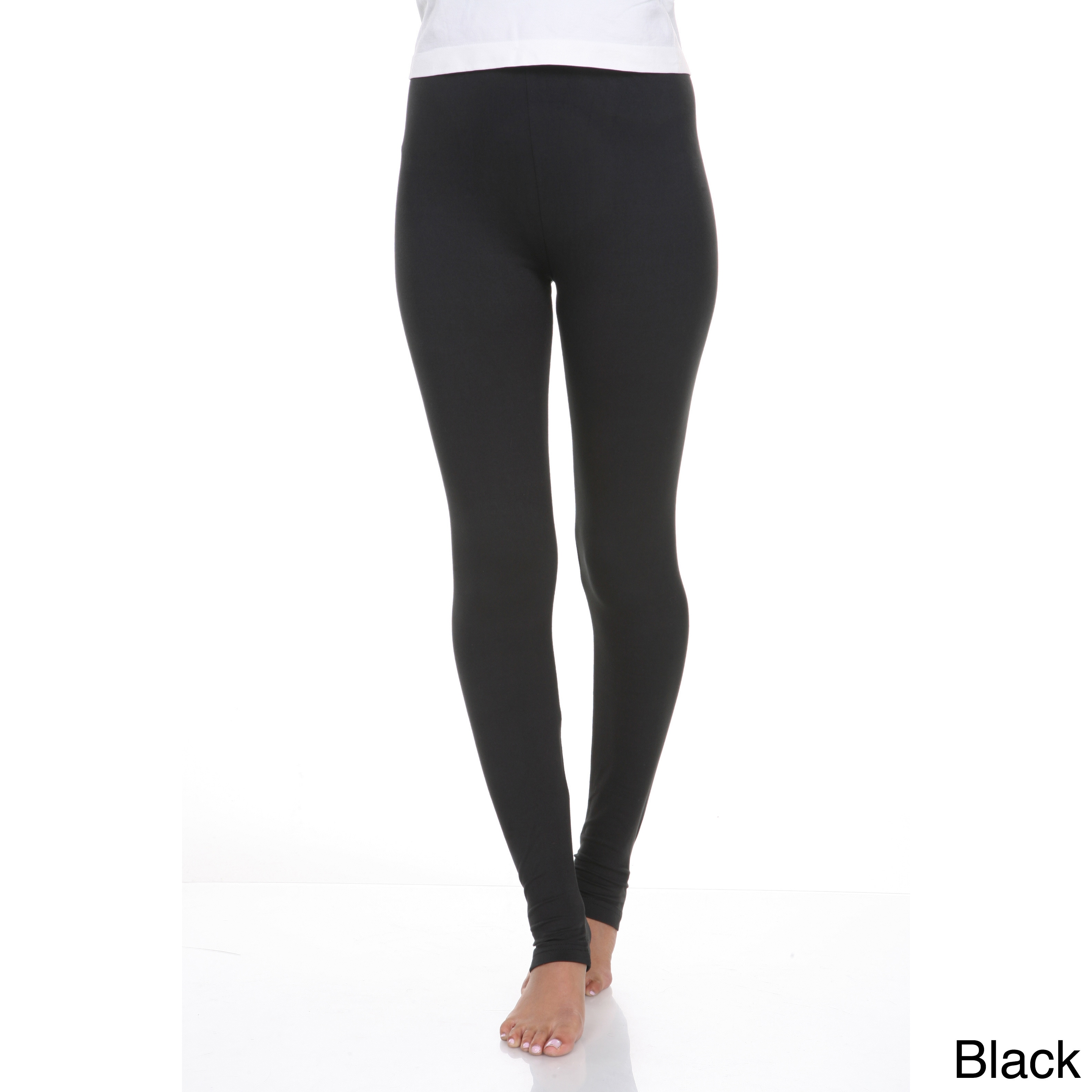 54c5ab4c90ca6 Shop White Mark Women's Cotton Leggings - Free Shipping On Orders ...