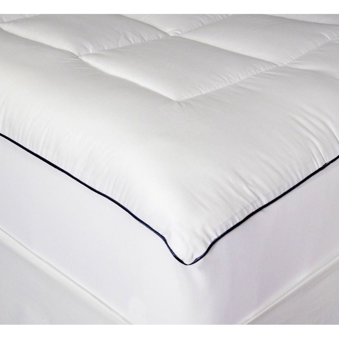 bedding topper pads mv pillow top image fb mattress on dot feather bed prod down coast pacific