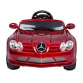 Aosom Red Mercedes-Benz 722S Kids 12V Ride-on Car with Remote