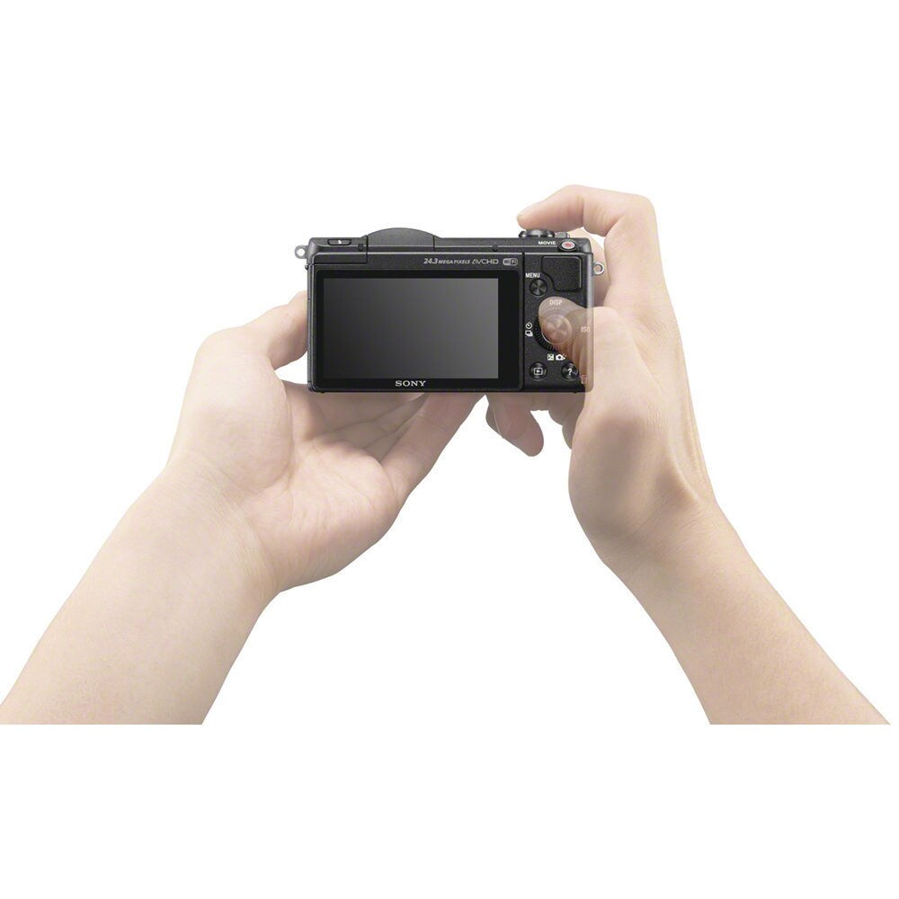 Shop Sony Alpha A5100 Mirrorless Digital Camera With 16 50mm Lens Kit Ships To Canada 9618402