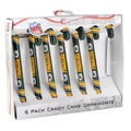 Forever Collectibles Green Bay Packers NFL Candy Cane Ornament Set
