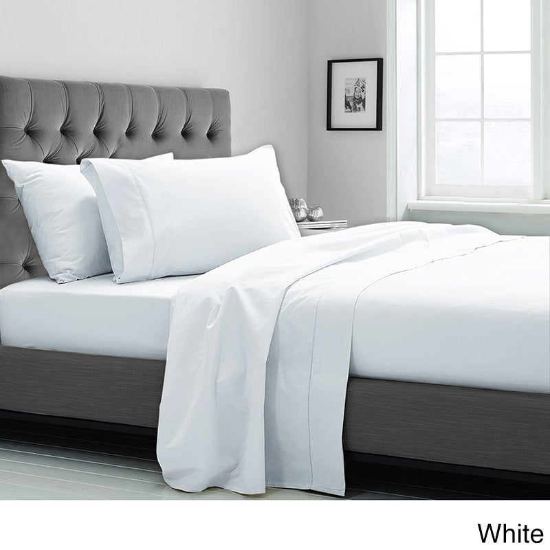 Shop Supima Cotton 600 Thread Count Sheet Set   Free Shipping Today    Overstock.com   9620743