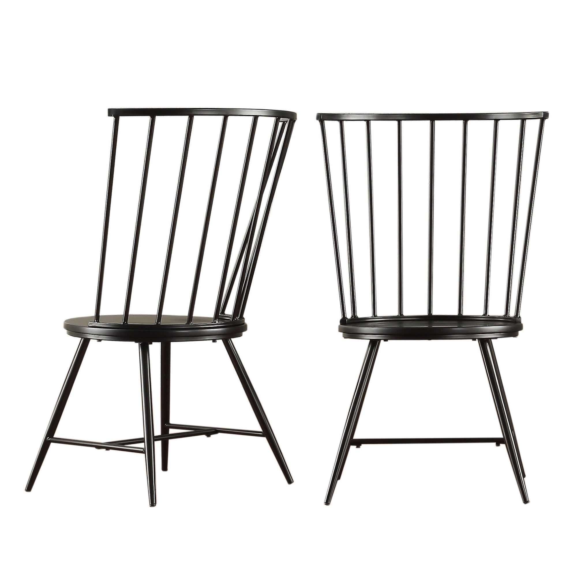 Truman High Back Windsor Classic Dining Chair (Set of 2) iNSPIRE Q Modern -  Free Shipping Today - Overstock.com - 16775262
