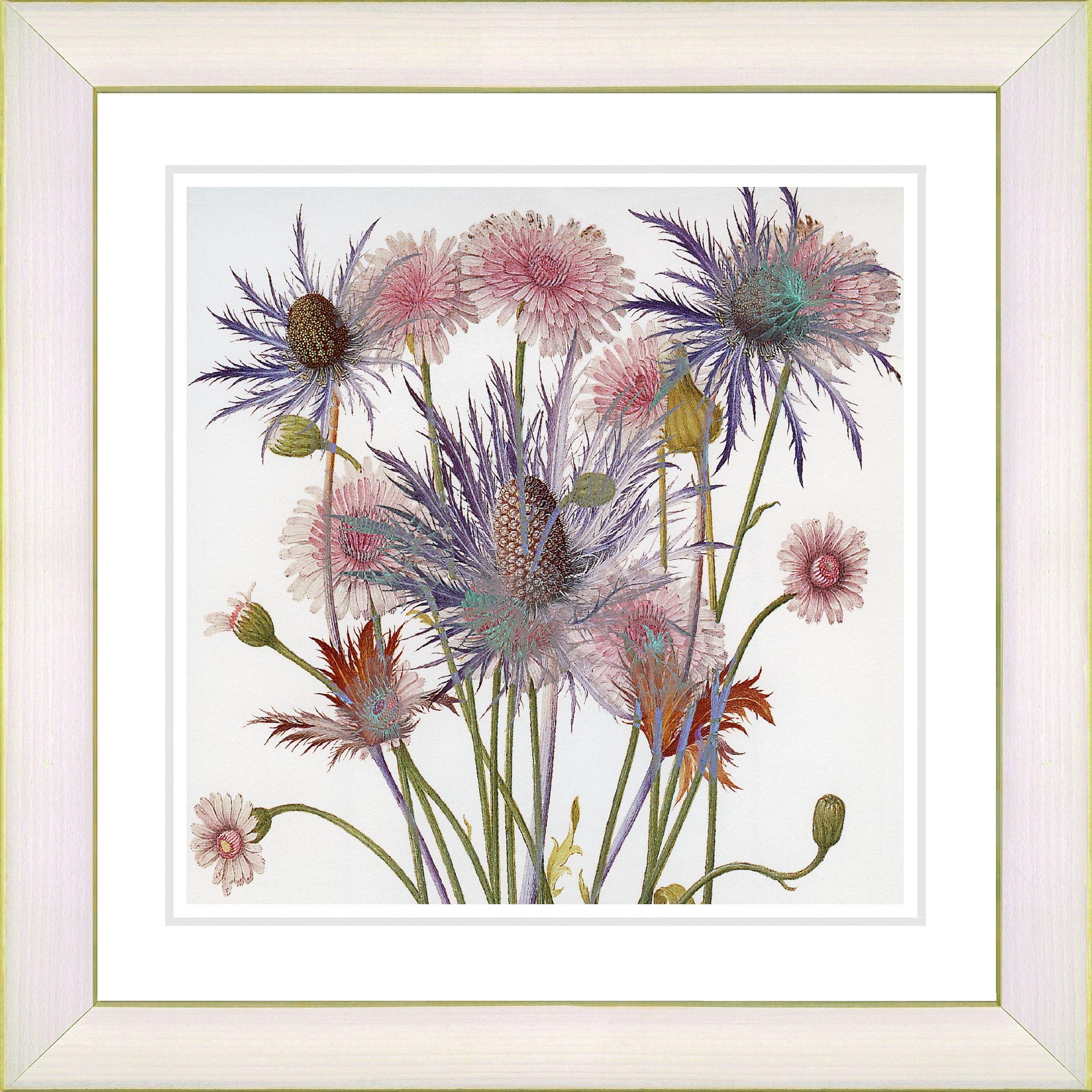 Studio Works Modern \'Highland Spring Flowers\' Framed Fine Art Print ...