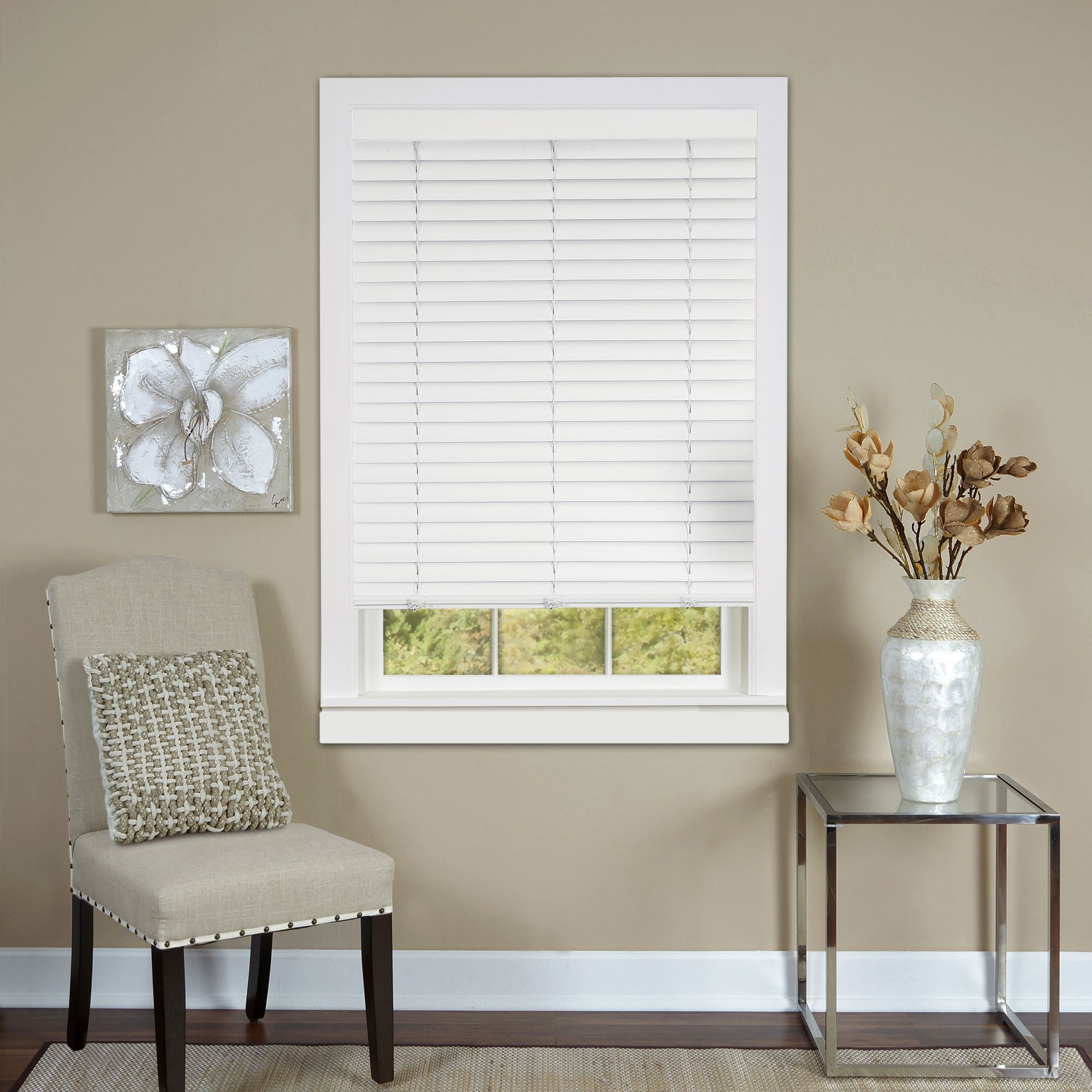 inch product overstock arlo shade wash bamboo free home grey privacy over shipping on blinds orders garden