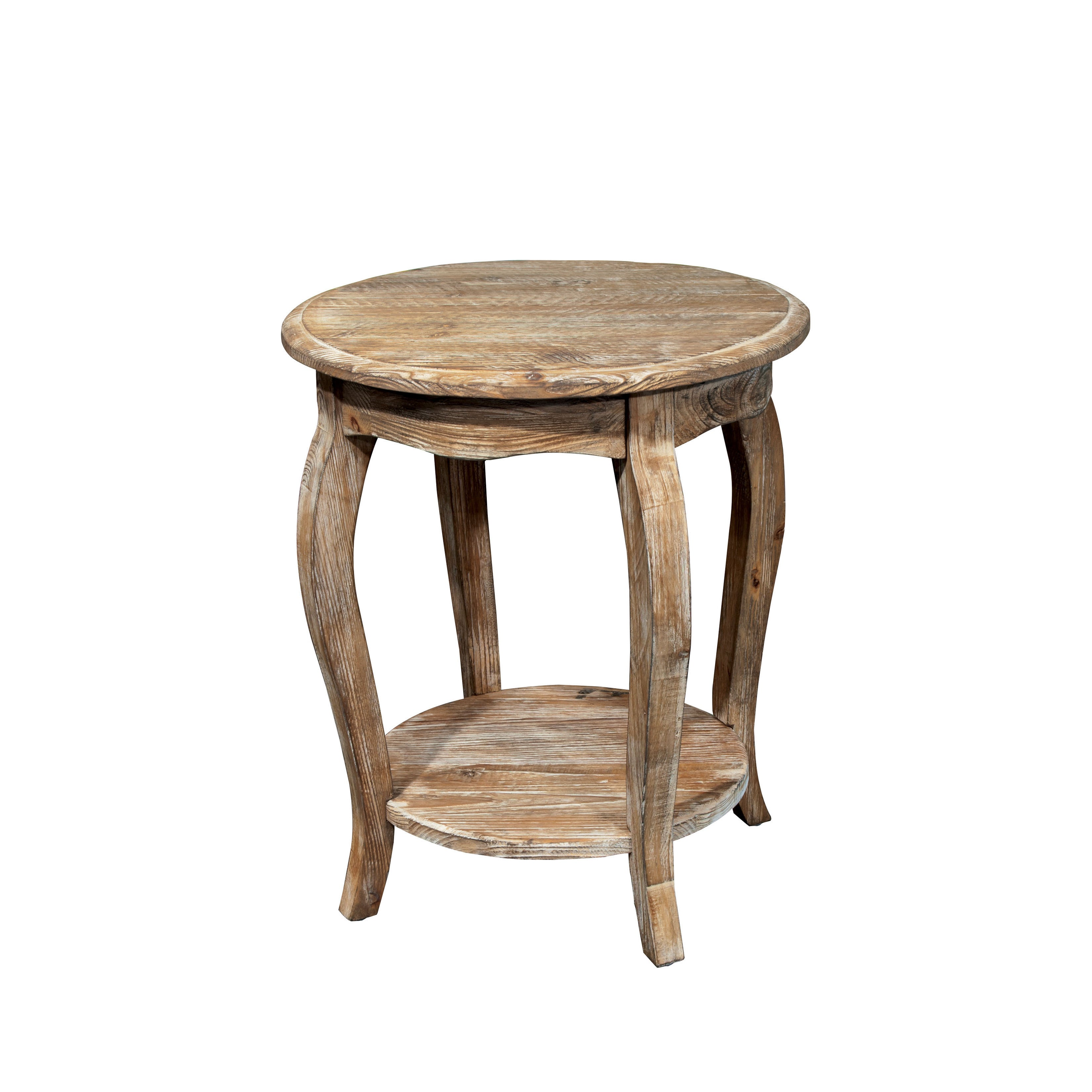 round alaterre garden free table shipping home today product rustic end overstock reclaimed tables
