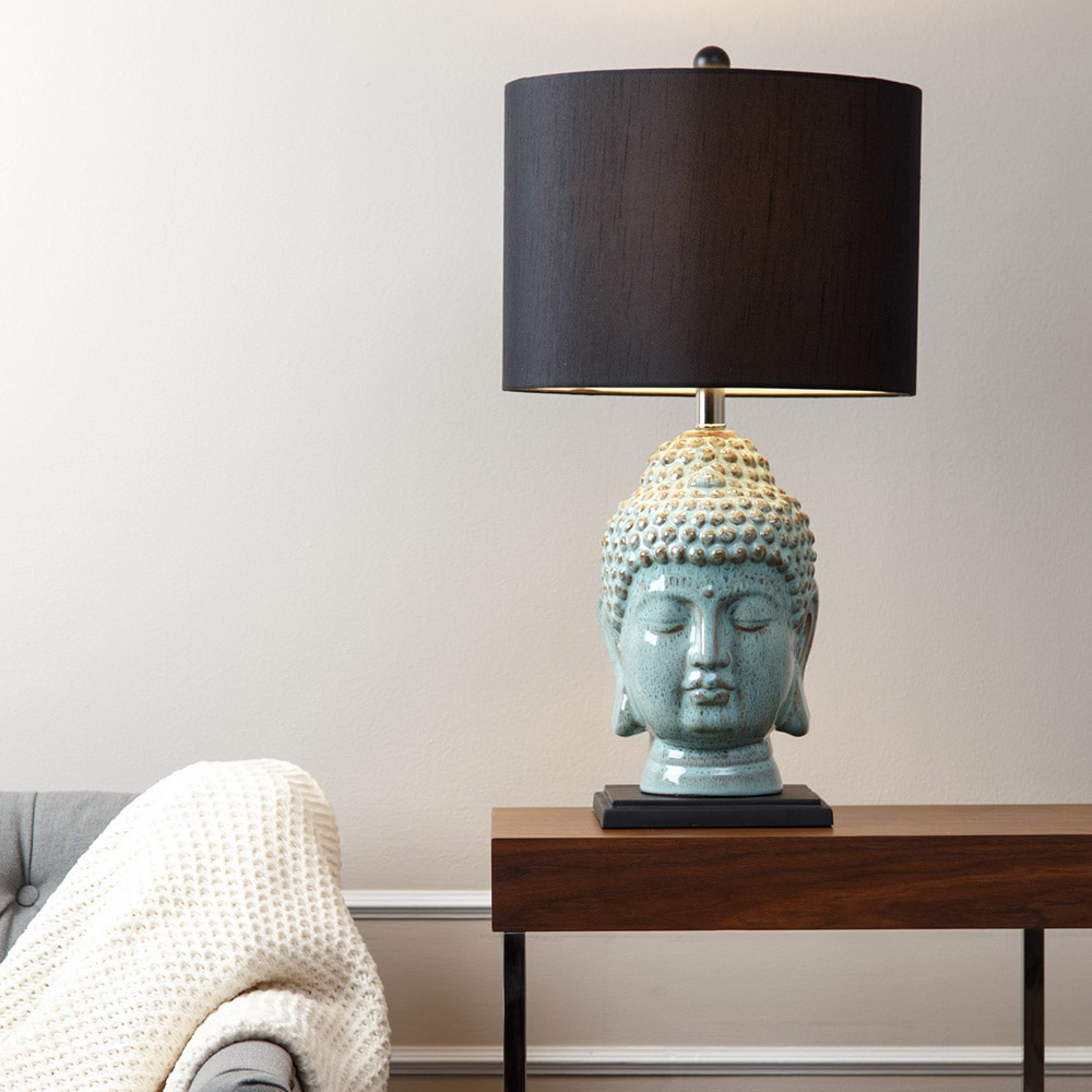 Abbyson buddha antique lime ceramic table lamp free shipping today abbyson buddha antique lime ceramic table lamp free shipping today overstock 16811741 aloadofball Images