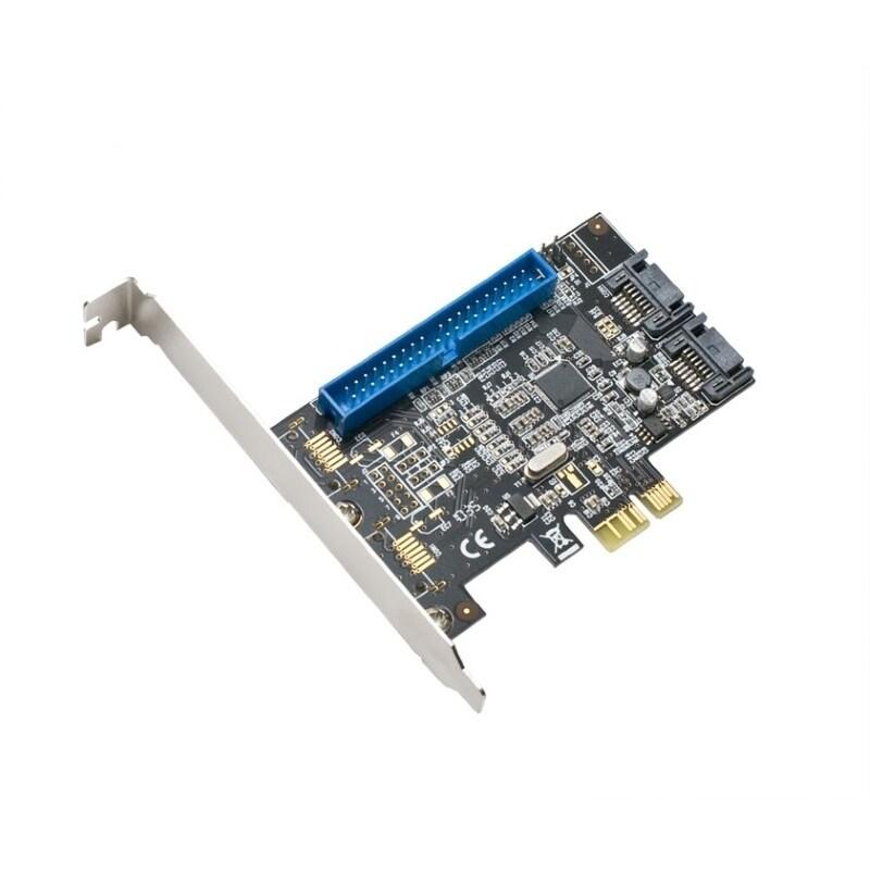 Shop Syba PCIe 1x PATA and 2x SATA3 Raid Controller Card Marvel