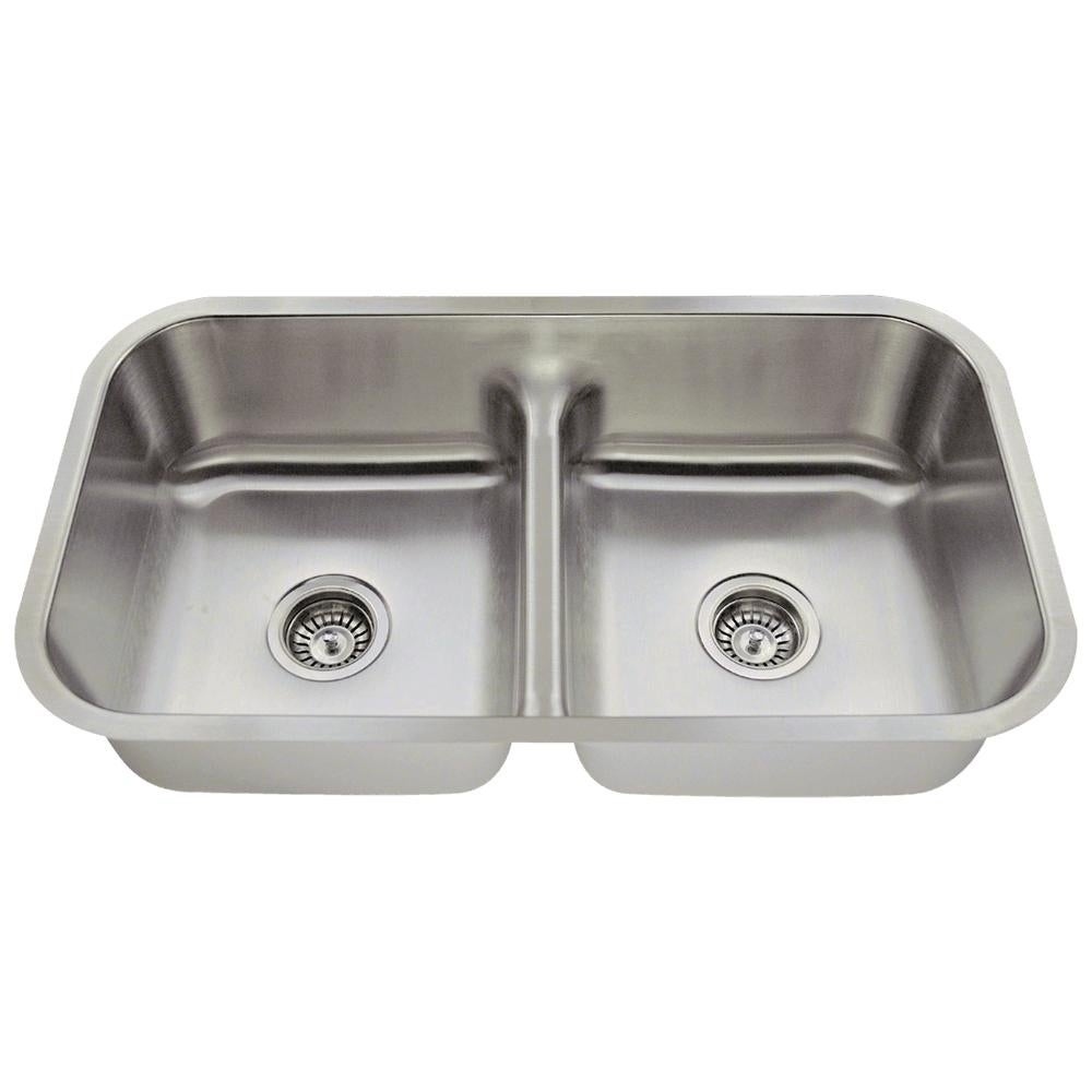 512 Low-Divide Stainless Steel Kitchen Sink - Free Shipping Today ...
