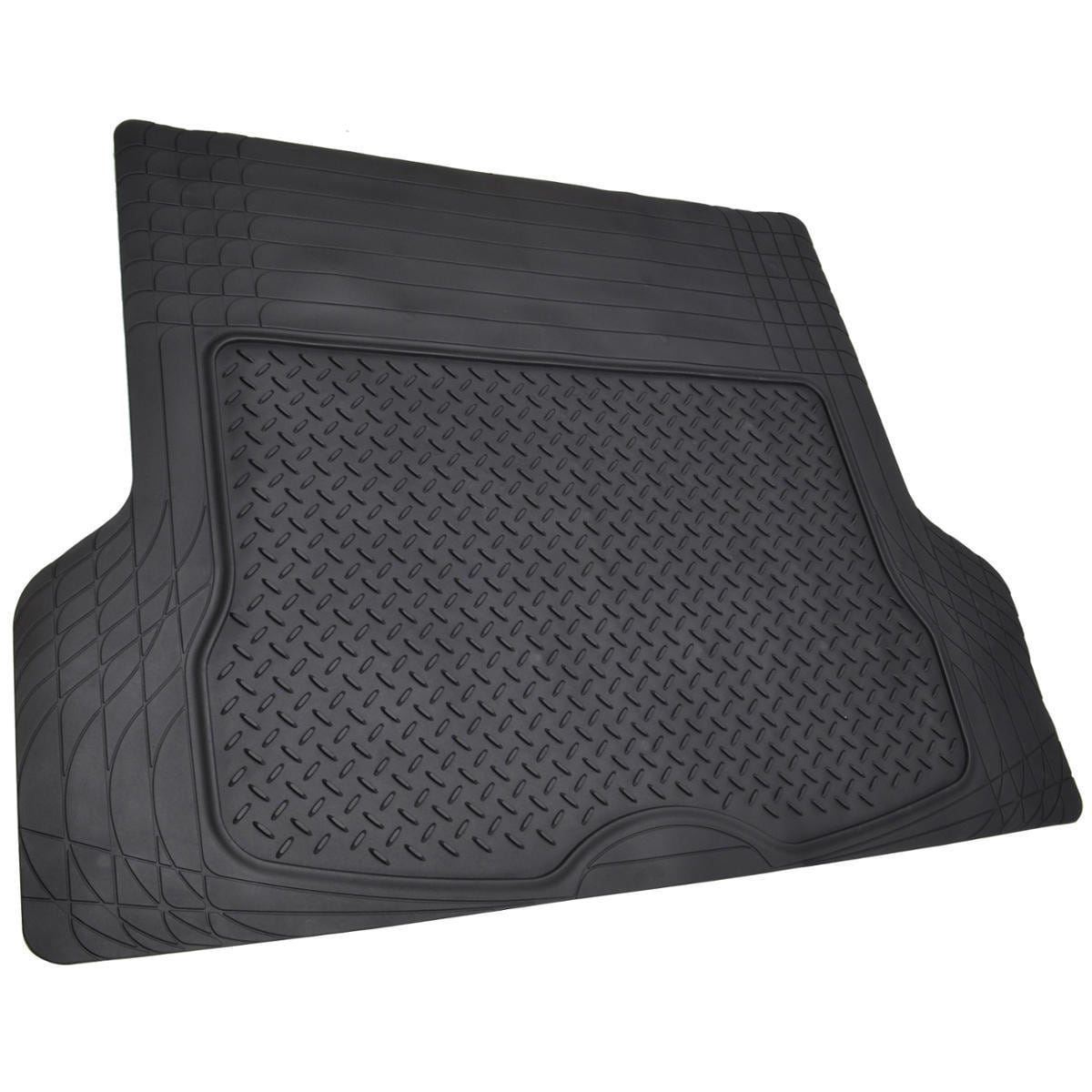 Motor Trend Large Cargo Trunk Odorless Trimmable Rubber Mat - Free ...