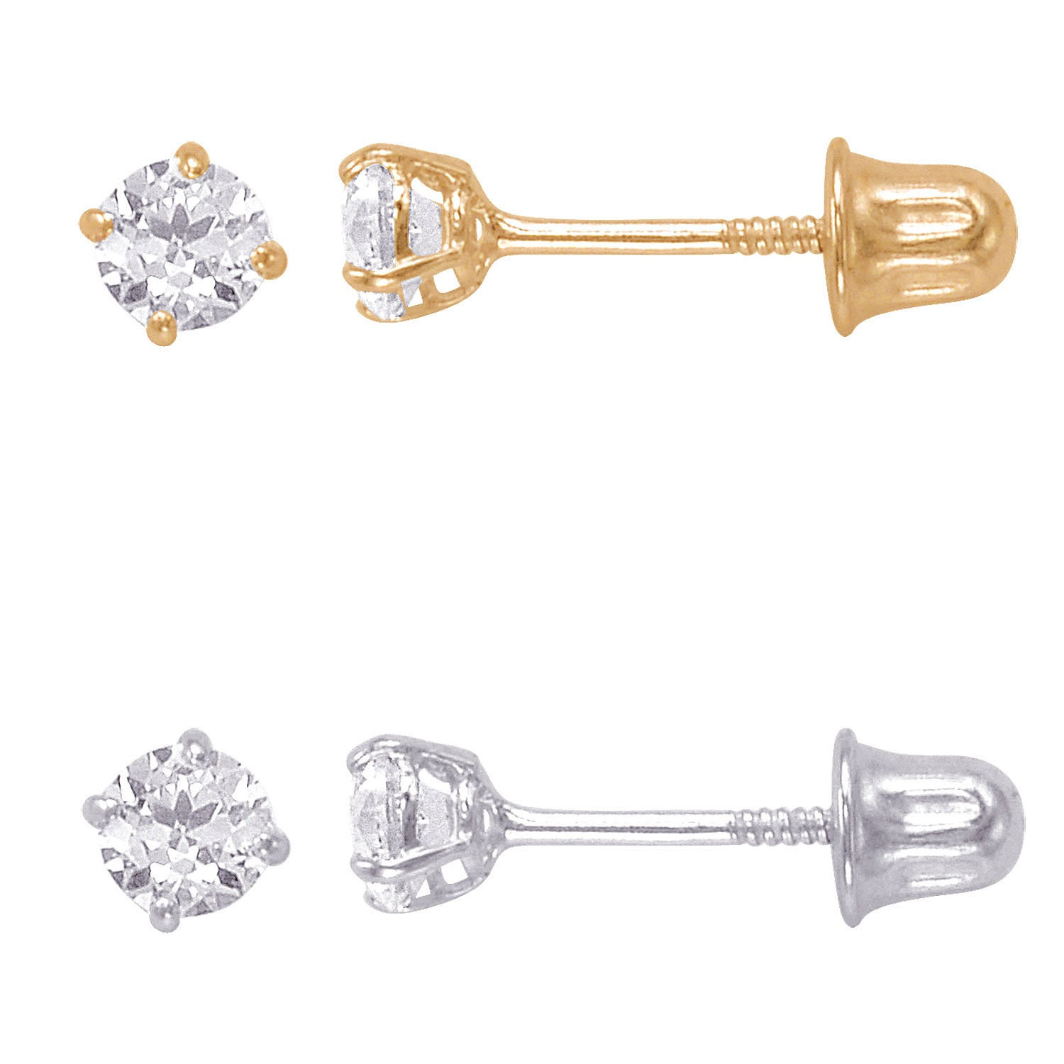 gauge post size serendipity earrings triangle in cartilage stud long piercing cz bar length products seoul extra