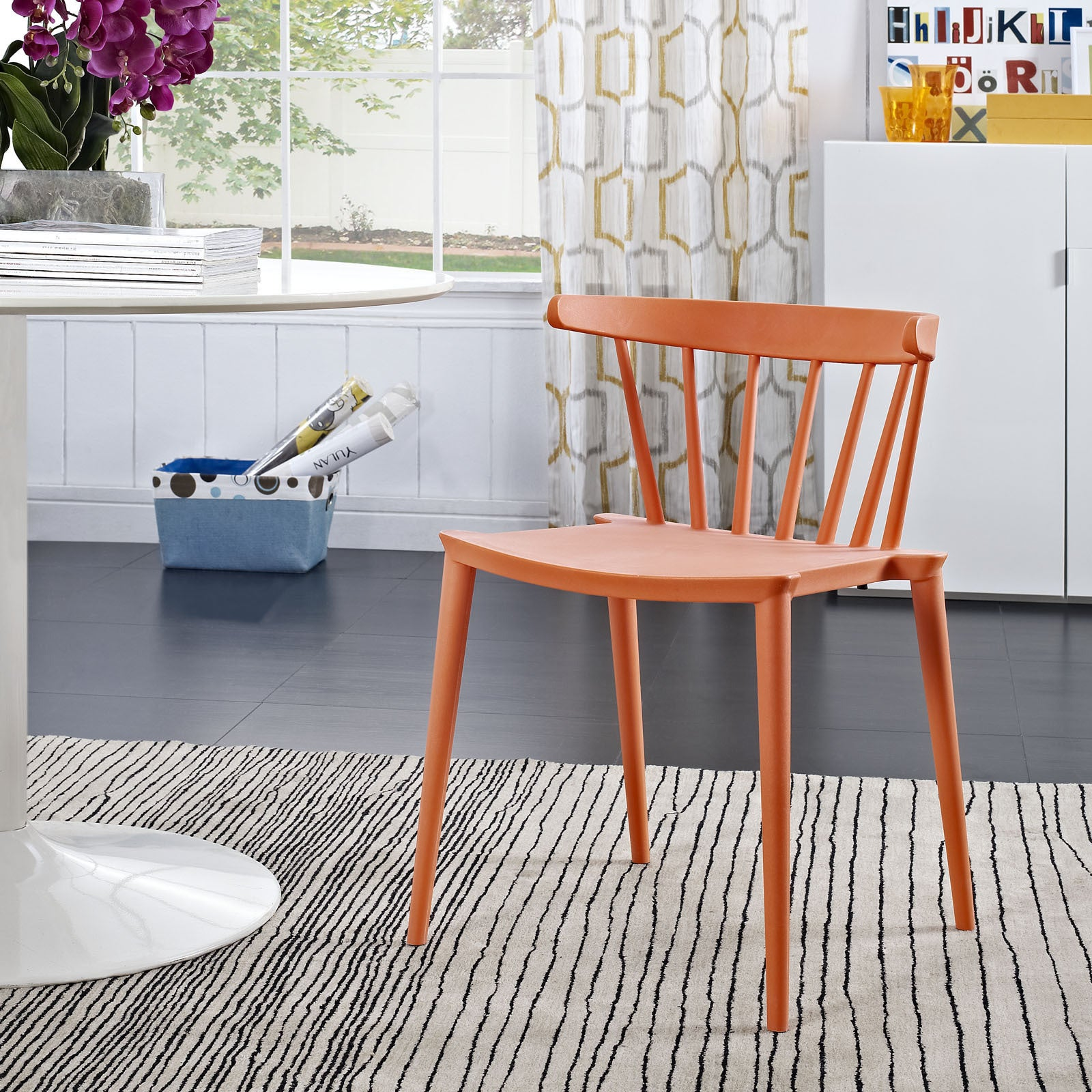 Shop Modway Modern Spindle Dining Chair - Free Shipping Today - Overstock -  9631480 81bc3a1ad3