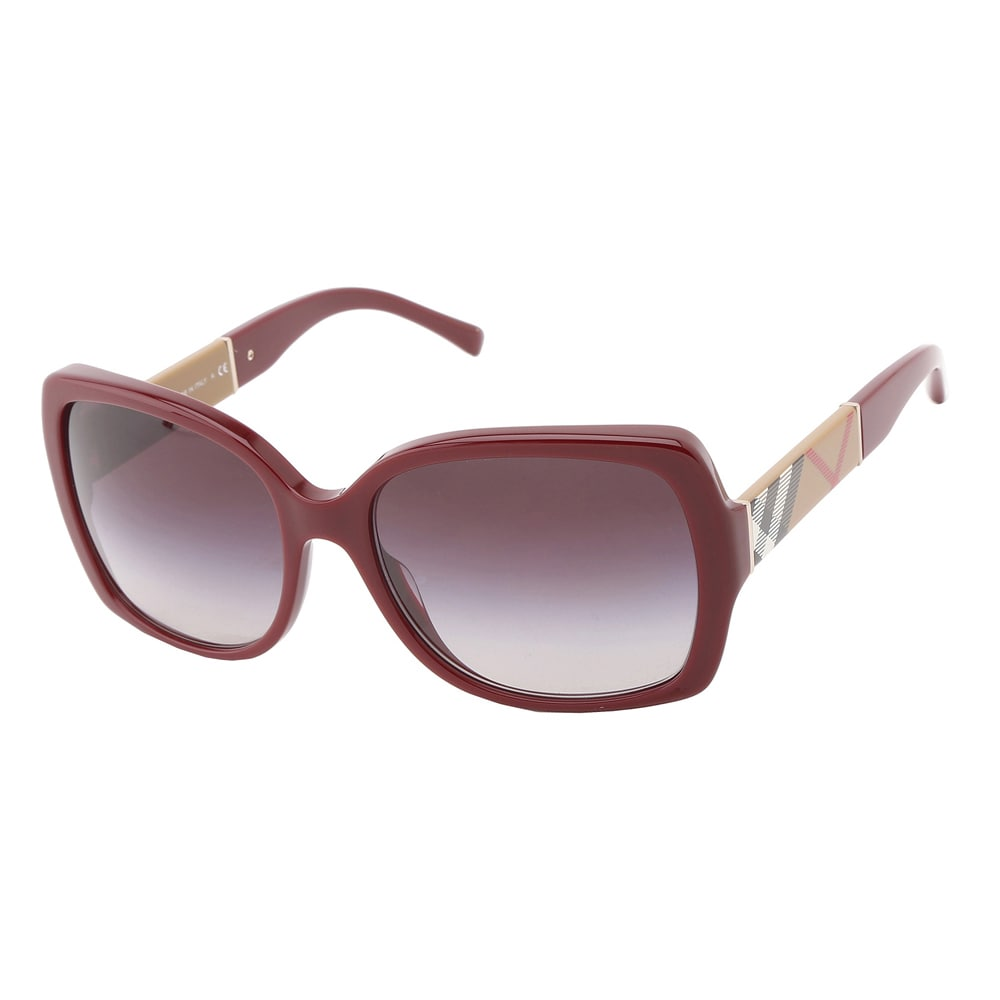 f430113ad0cd Shop Burberry Women s  BE 4160 34038G  Sunglasses - Free Shipping Today -  Overstock - 9632589