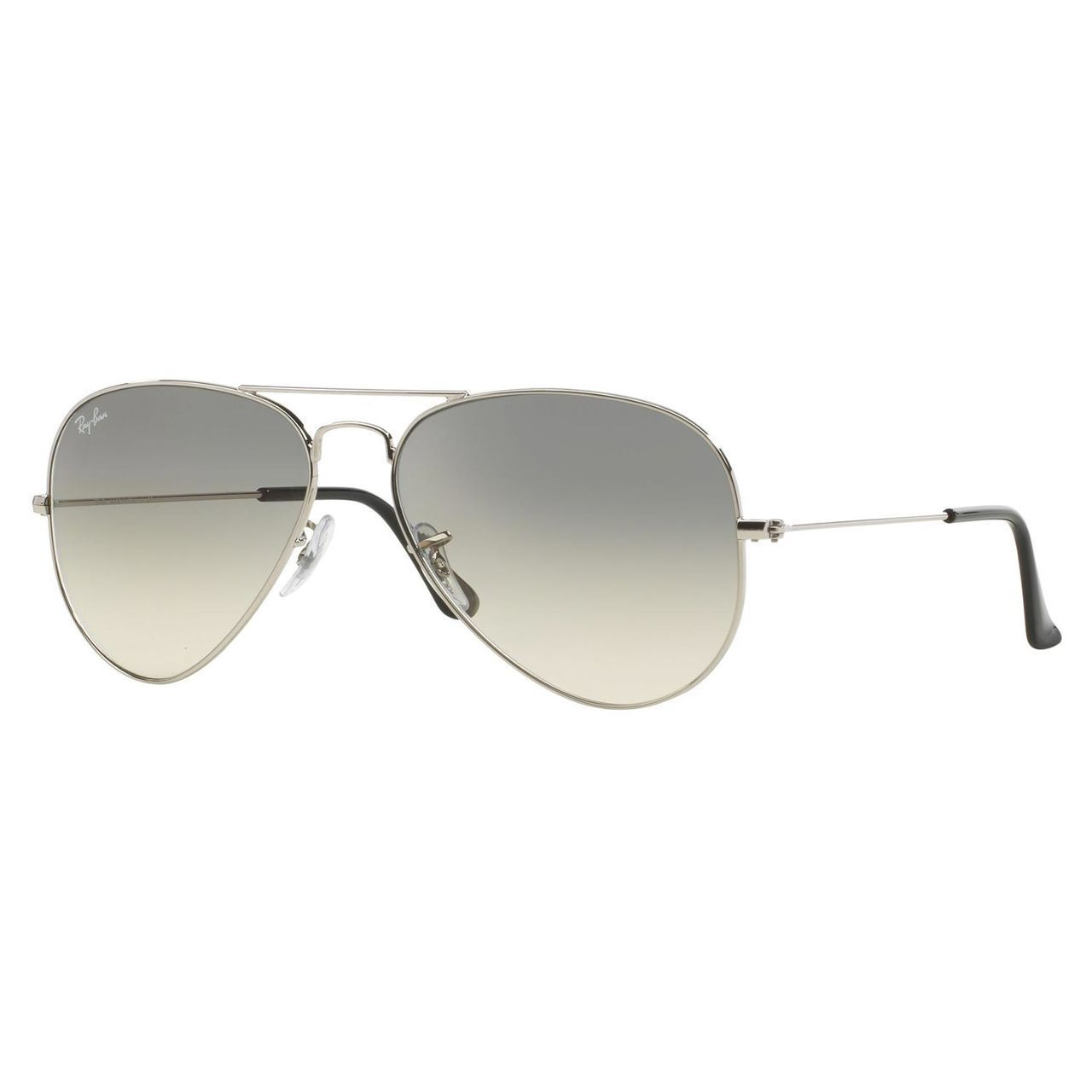 eff430bf08c Shop Ray-Ban RB3025 003 32 Silver Gradient Large Aviator Sunglasses - Free  Shipping Today - Overstock - 9632855