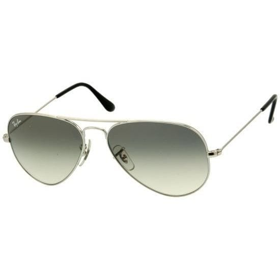 43764d3189e11 Shop Ray-Ban RB3025 003 32 Silver Gradient Large Aviator Sunglasses ...