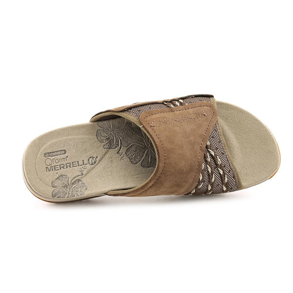 8c05b0af9d62 Shop Merrell Women s  LilyFern  Faux Suede Sandals - Free Shipping Today -  Overstock - 9638178