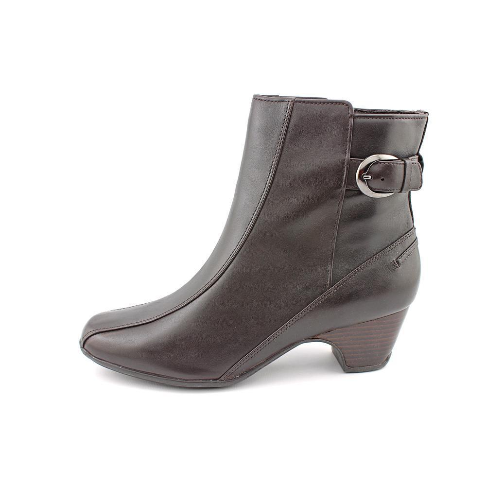 Shop Clarks Artisan Women's 'Dara III' Leather Boots - Free Shipping Today  - Overstock.com - 9638424