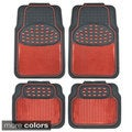 BDK Heavy-duty 4-piece Metallic Rubber Mats