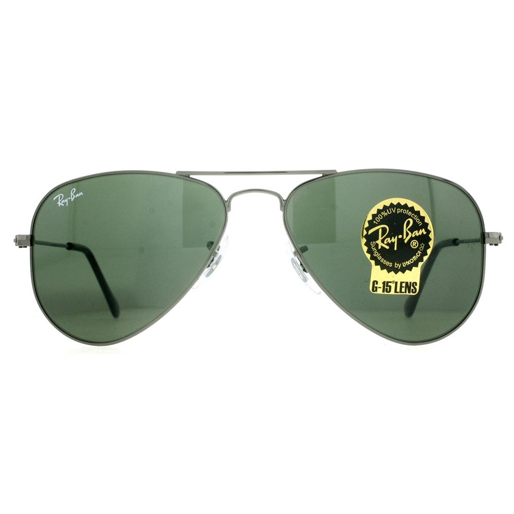 fbf1c257e43 Shop Ray-Ban RB3044 W3100 Aviator Small Metal Sunglasses - Free Shipping  Today - Overstock - 9643863
