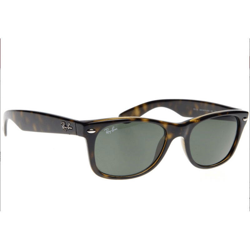 f563c52c959 Shop Ray-Ban RB2132 902 58 50 New Wayfarer Classic Sunglasses - Black Brown  - Free Shipping Today - Overstock - 9643868