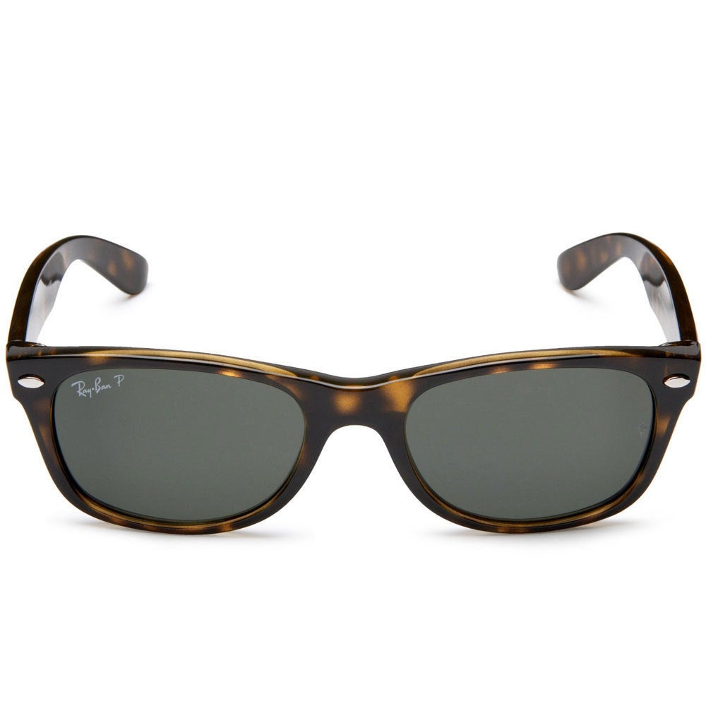 8b6a6cf032 Shop Ray-Ban RB2132 902 58 50 New Wayfarer Classic Sunglasses - Black Brown  - Free Shipping Today - Overstock - 9643868
