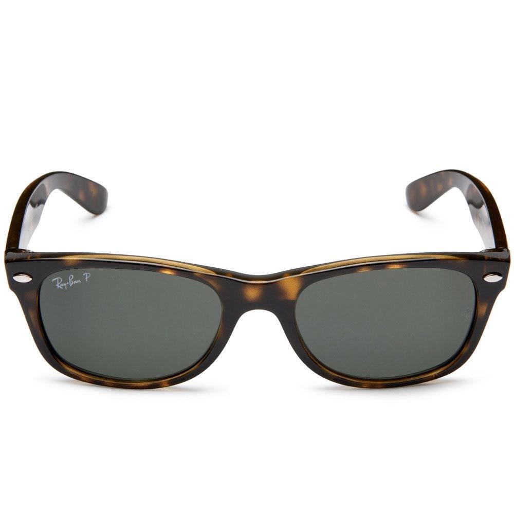 fb23c65875b Shop Ray-Ban RB2132 902 58 50 New Wayfarer Classic Sunglasses - Black Brown  - Free Shipping Today - Overstock - 9643868