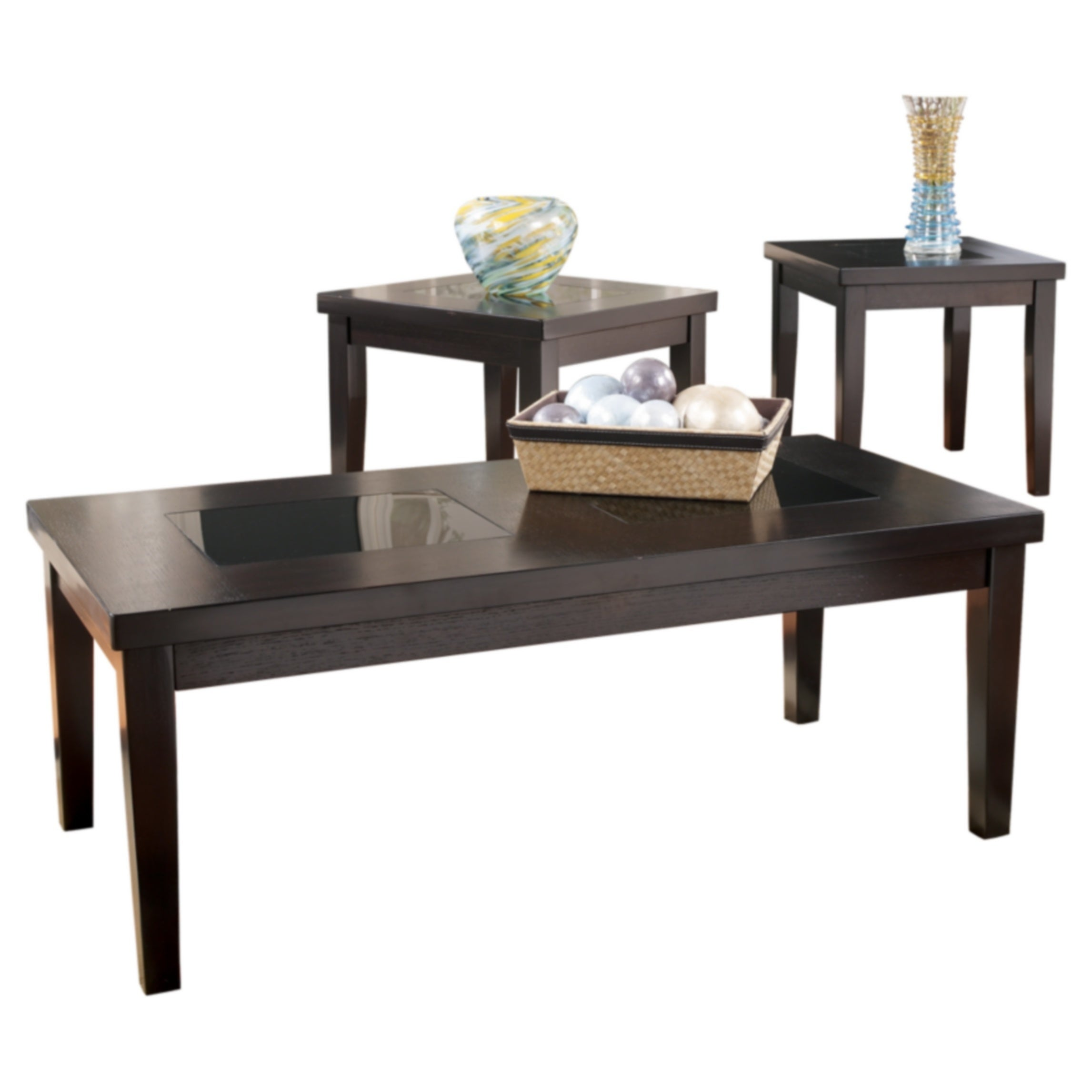 Shop Signature Designs By Ashley Denja 3 Piece Occasional Table