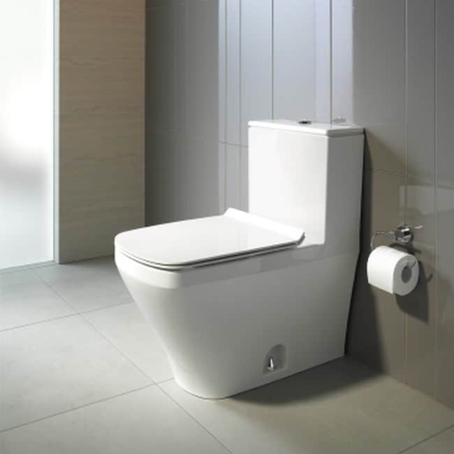 Shop Duravit Durastyle One Piece Toilet 12 Inch Rough Dual Flush 14.63 Inch  X 28.38 Inch Temp   Free Shipping Today   Overstock.com   9654111