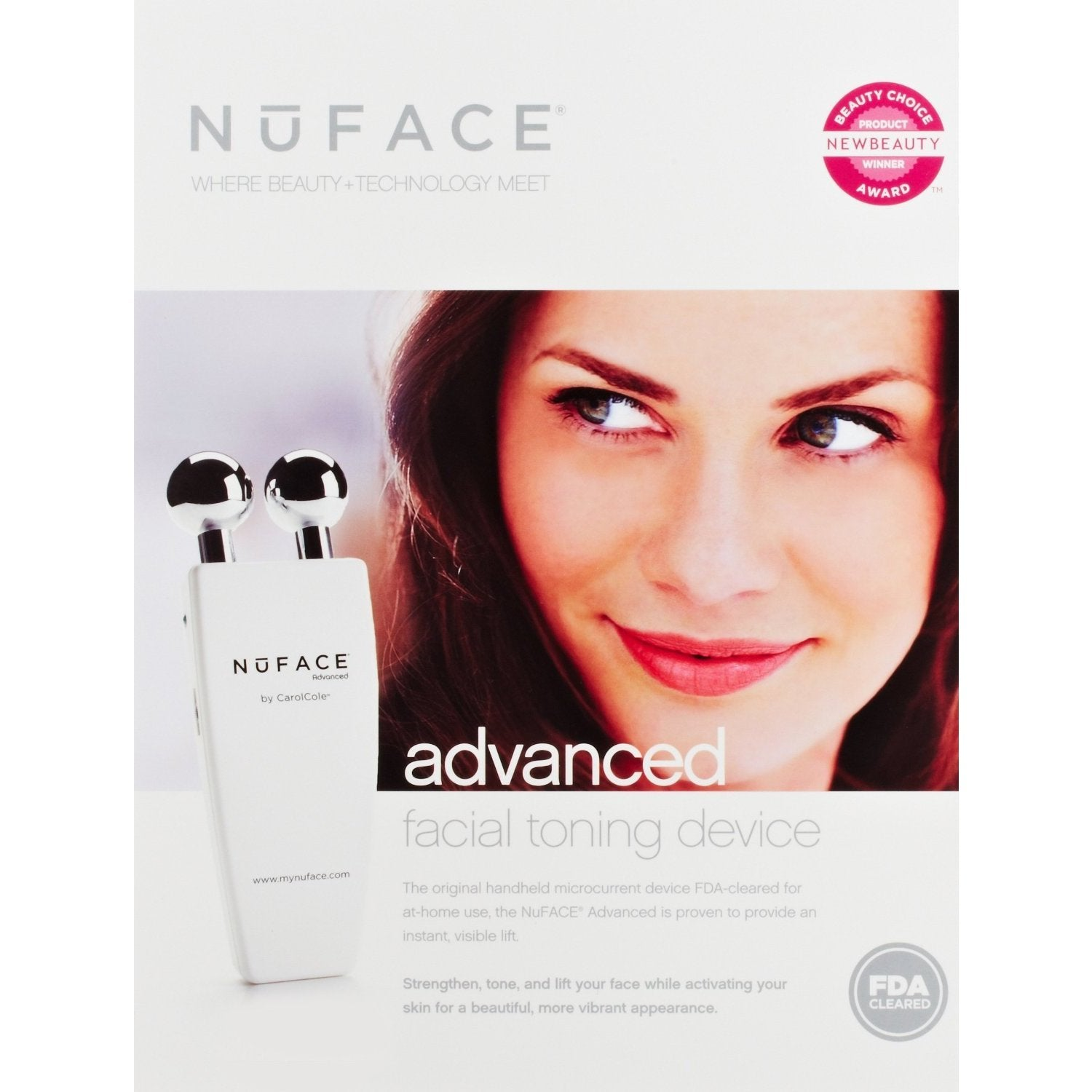 Shop Nuface Classic Facial Toning Device Free Shipping Today Mask 9654962