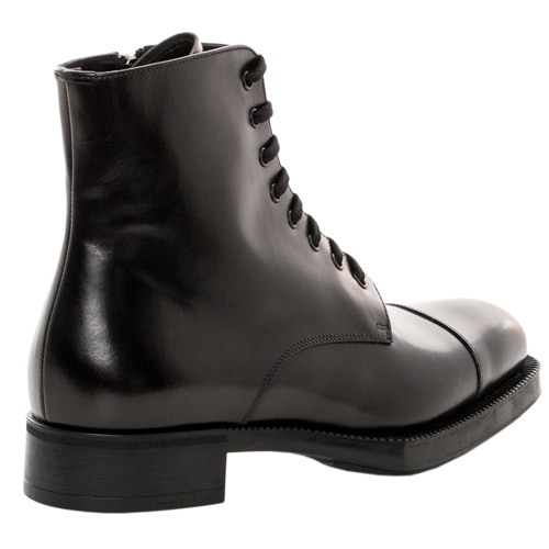 c7a191621ed1 Shop Prada Women s Lace-up Ankle Combat Boots - Free Shipping Today -  Overstock - 9657716
