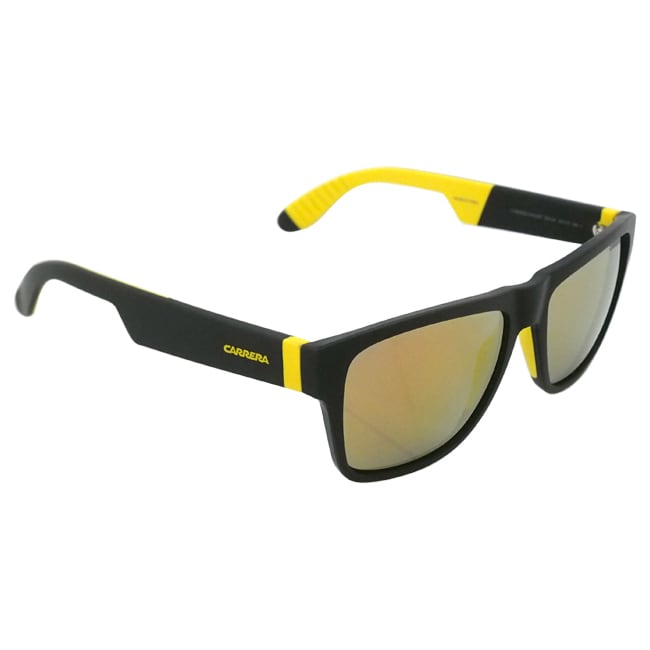 03be27ac4035e Shop Carrera Unisex  5002 SP 267UW  Black and Yellow Sunglasses - Free  Shipping Today - Overstock - 9657802