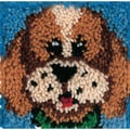 "Wonderart Latch Hook Kit 8""X8""-Puppy"