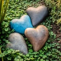 Handmade Heart of Stone Ornament (Indonesia)
