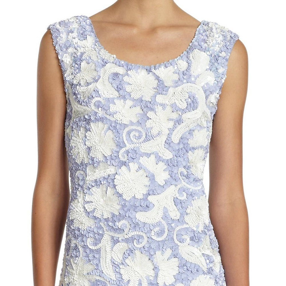 9aabf7c56c9 Shop Free People Sequin Floral Periwinkle Cocktail Party Dress - Free  Shipping Today - Overstock - 9662986
