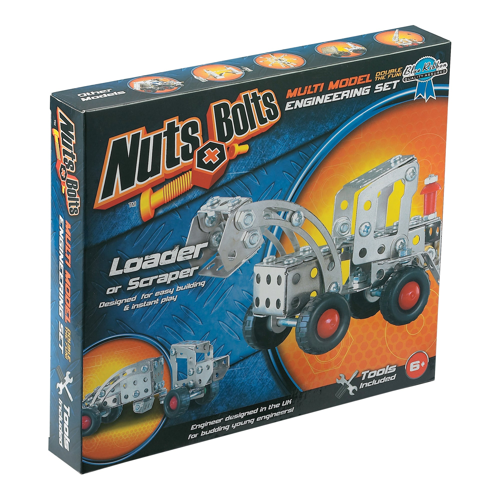 Nuts and Bolts Loader or Scraper Model Engineering Set